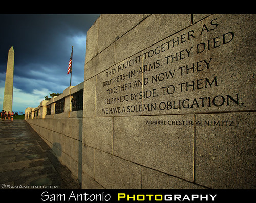 National World War II Memorial - Washington, D.C. by Sam Antonio Photography