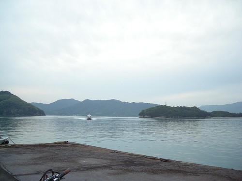 尾道行き船