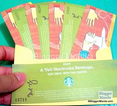 Starbucks Gift Certificates