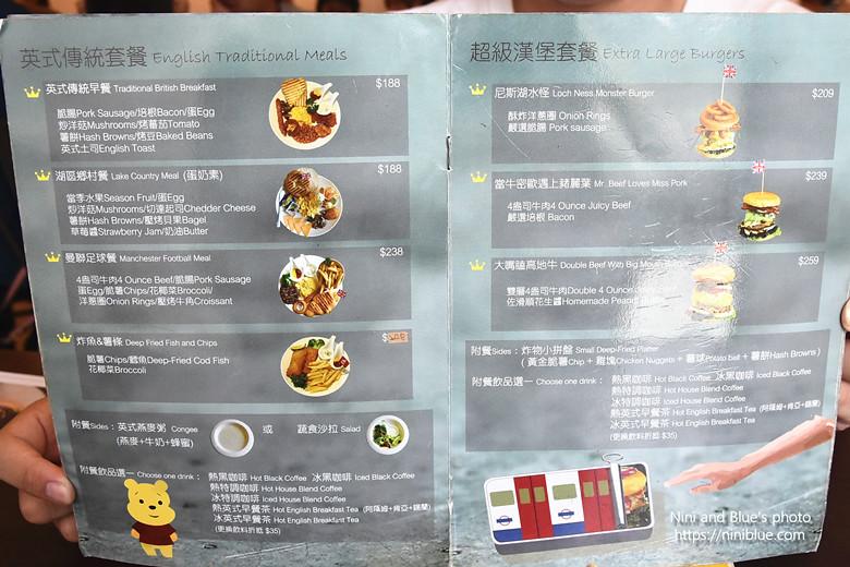 台中漢堡巴士菜單menu價位04