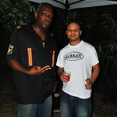 #TBT THE JAMKAM FAMILY!!!! DJ Speedy Don Dada & Yours Truly Money Claude From The Appreciation Beach Party/BBQ 2 Years Ago @ FORT TILDEN In Queens.
