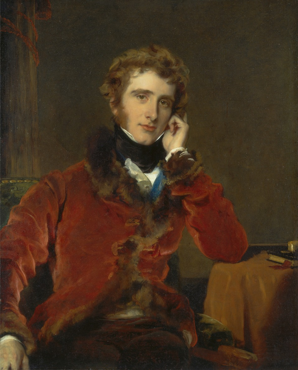 George James Welbore Agar-Ellis, later 1st Lord Dover by Sir Thomas Lawrence - 1823-1824