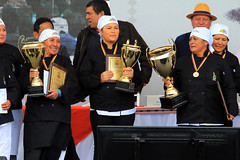 09/25/2016 - 15:36 - Otavalo, Imbabura 25 Sep (Andes).- Se celebró en Otavalo la 2da edicion del campeonato mundial del hornado con la presencia del Presidente Rafael Correa y dignidades de estado en la mesa calificadora. Fotografías. Carlos Rodríguez/Andes