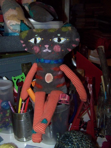 Art Cat Doll by Emilyannamarie
