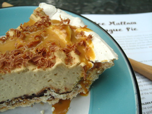 The Sugar Cube's Coffee Mallow Meringue Pie
