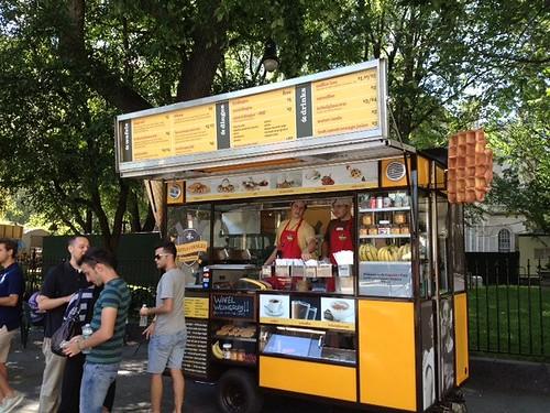 waffles cart