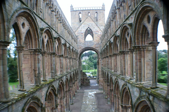 Jedburgh Abbey, Borders Region