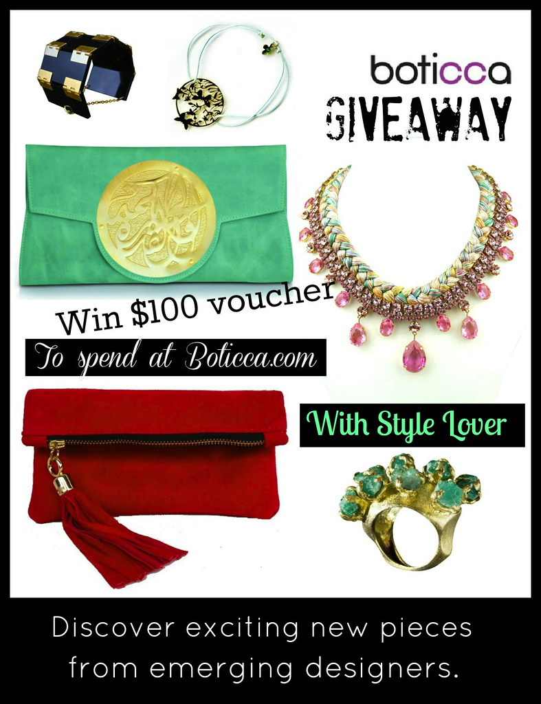 Style lover boticca giveaway