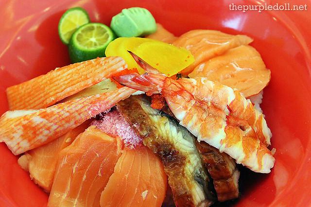 Chirashi Sushi P285