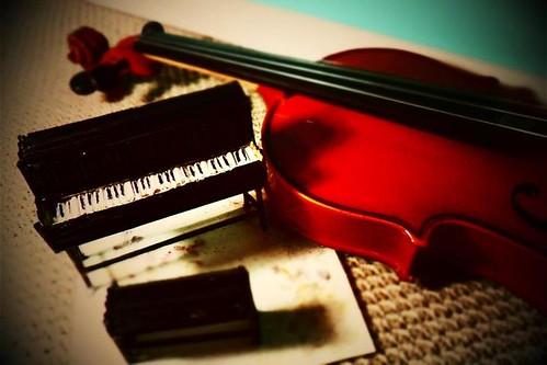 piano y violin