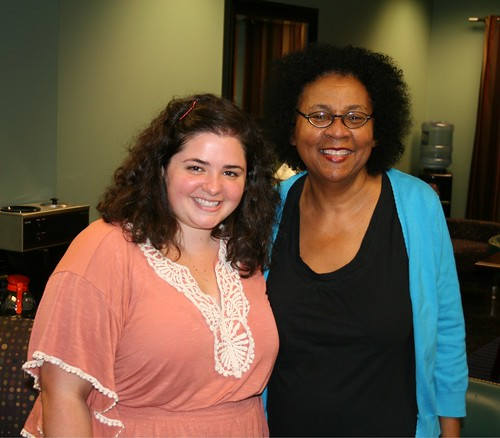 Amber Cantrell and bell hooks