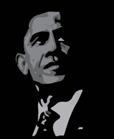 Portrait - Obama