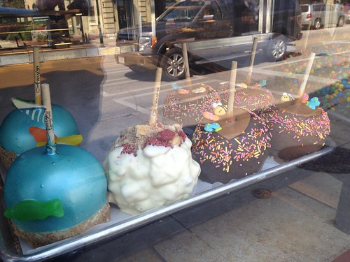Amy's in Cedarburg-candy apples