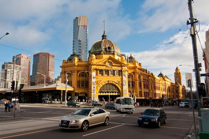 Flinders Street Station @ Melbourne, Australia