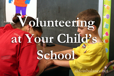 volunteering at your children's school