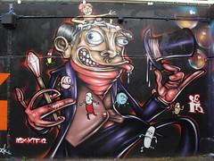 Stockwell graffiti, London