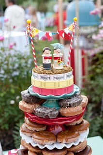 Wedding Carnival Doughnut Cake