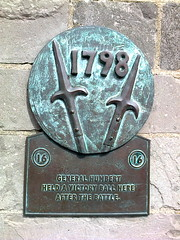 Photo of Jean Joseph Amable Humbert bronze plaque