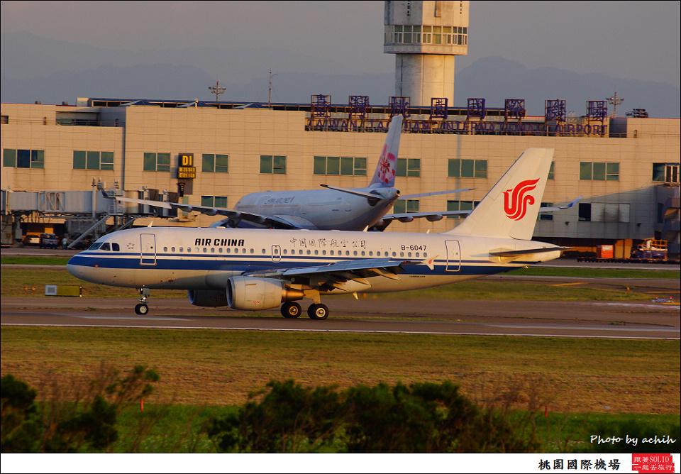 Air China / B-6047 / Taiwan Taoyuan International Airport