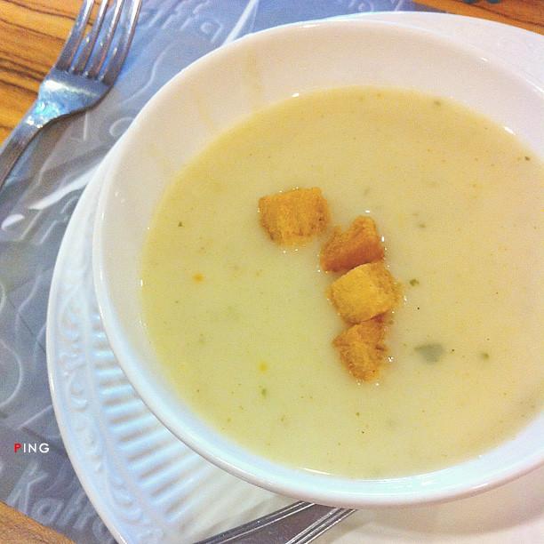 Chicken Soup @ Kaffa Kafe, Straits Quay