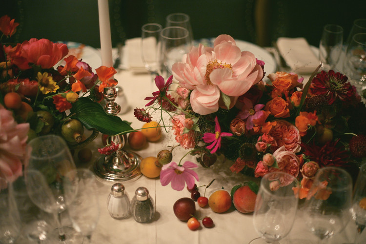 The Carlyle | amy merrick | Pinterest Picks - A Colorful Thanksgiving Table