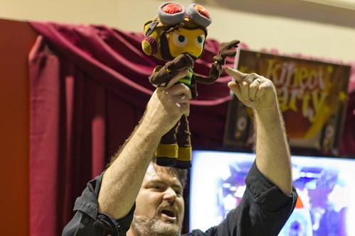 PAX 2012 Raz meets Tim Schafer
