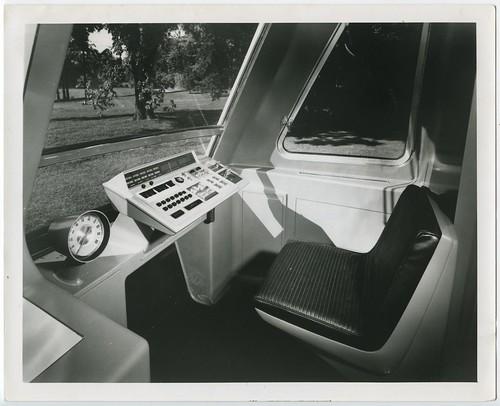 BART operator's cab prototype (1965?)