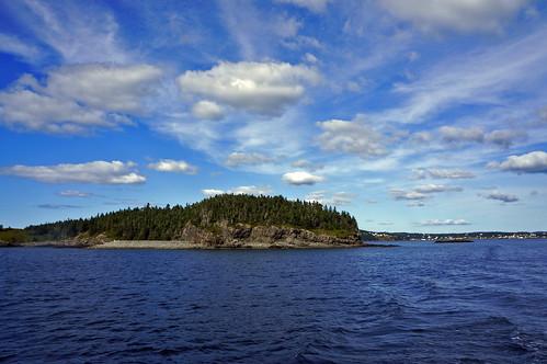 Dildo Island with Blue Sky