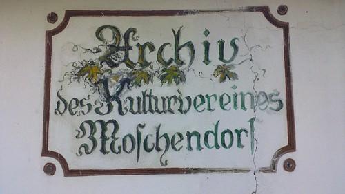 Archiv des Kulturvereines Moschendorf