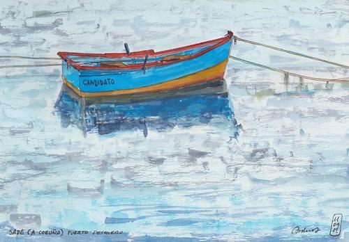 Sada (A Coruña) Puerto pesquero