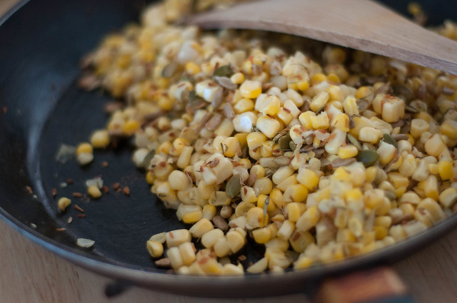 stir fried corn