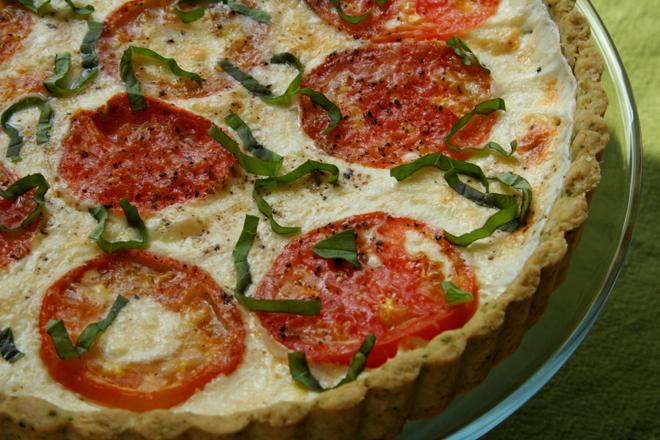 tomato basil tart 6