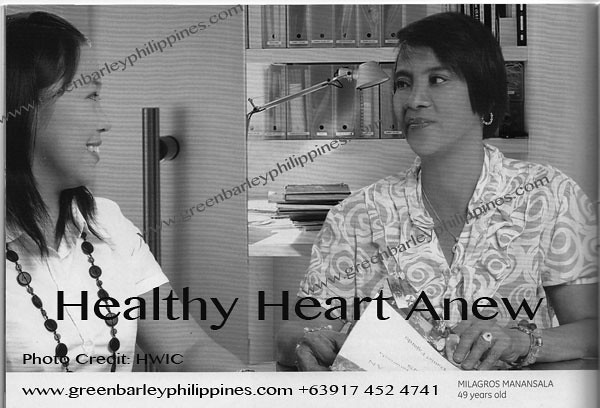 green barley testimonial heart disease www.greenbarleyphilippines.com