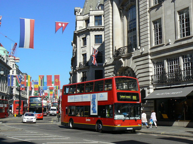 Go-Ahead London General PVL205 on Regent Street