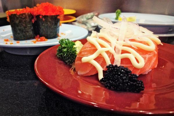 Dinner at Hana Japanese Sushi Restaurant