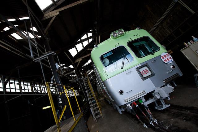 上毛電気鉄道上毛線700型 717F