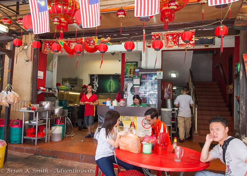 Restoran Kim Lian Kee interior.