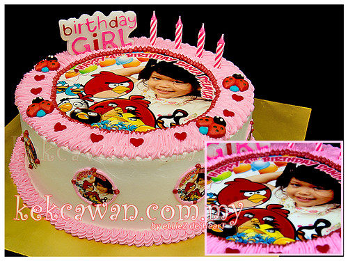 Choc Sponge Cake with Edible Image