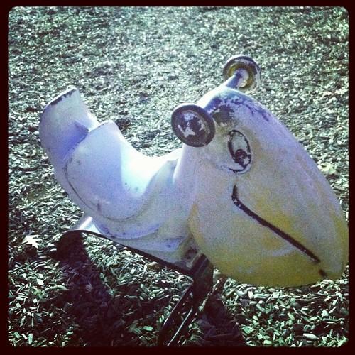 Vintage playgound ride, Deer Park, Texas