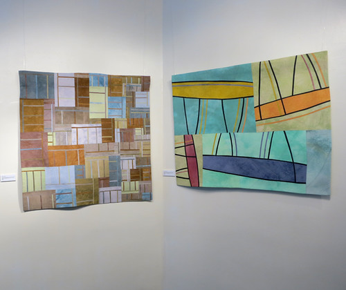 Lisa Call Structures 38 & 143 at The ArtQuilt Gallery