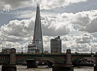 The London Shard (Southwark Bridge) Sigma 30mm F2.8