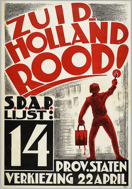 Albert Hahn. Paint South Holland Red! 1932