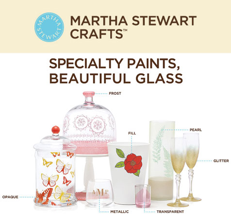 Martha Stewart Glass Paints