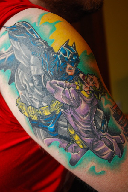 batman half-sleeve, 3rd session
