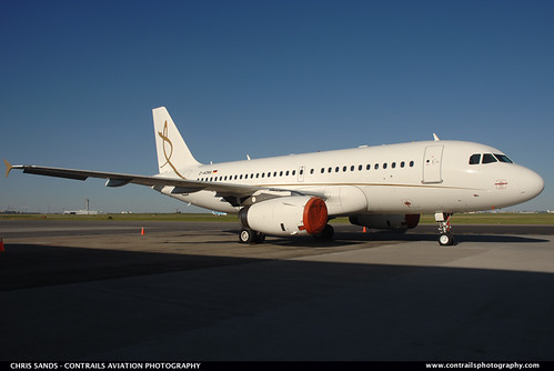 Daimler Chryser Aviation A319 DADNA