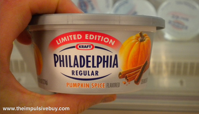 Philadelphia Pumpkin Spice Cream Cheese | Flickr - Photo Sharing!