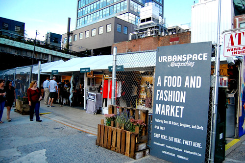 food and clothing market