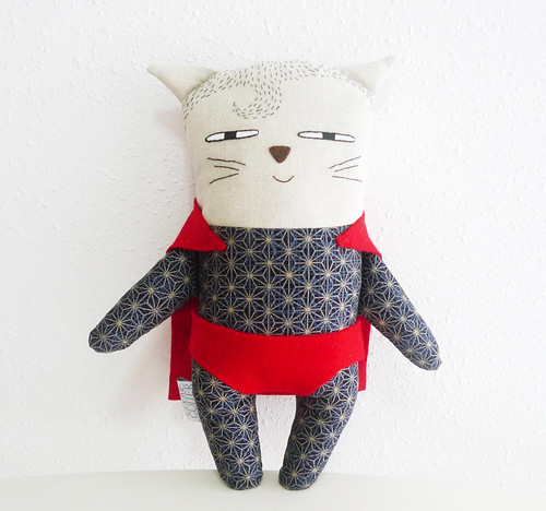 Superman Cat Plush