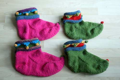 wip: elf slippers.