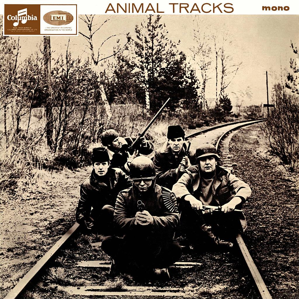 Animal Tracks Lp Cover Art